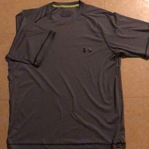 Grey Underarmour Workout T-Shirt